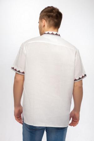 Вышиванка «Бажан» белого цвета КР