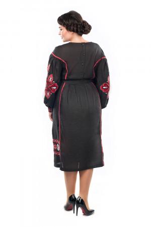 Сукня «Бояна» чорного кольору