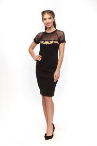 Сукня «Таїна» чорного кольору