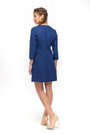 Сукня «Гортензія» синього кольору