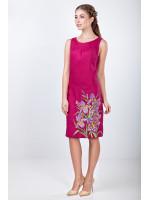 Платье «Ирисы» цвета фуксии