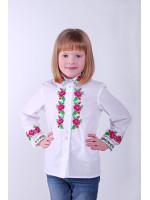 Вышиванка для девочки «Краски розы»