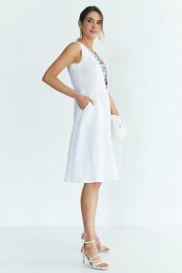 Сукня «Горяна» білого кольору