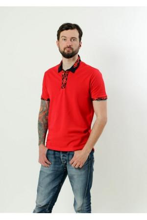 Футболка «Лидер» красного цвета