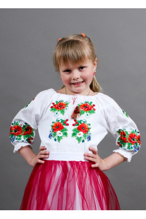 Вишиванка для дівчинки «Василинка»