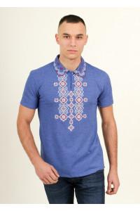 Чоловіча футболка «Романтика» кольору джинс