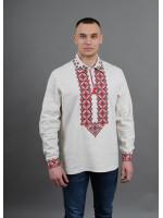 Вышиванка «Вогнедар» белого цвета