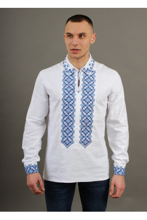 Вышиванка «Синевир» белого цвета