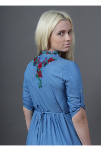 Сукня «Барвінок» кольору джинс