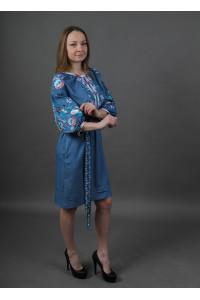 Сукня «Водограй» кольору джинс