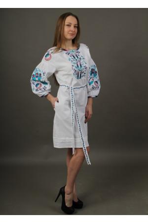 Сукня «Водограй» білого кольору