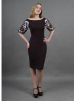 Сукня «Віолета» шоколадного кольору