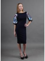 Сукня «Віолета» темно-синього кольору