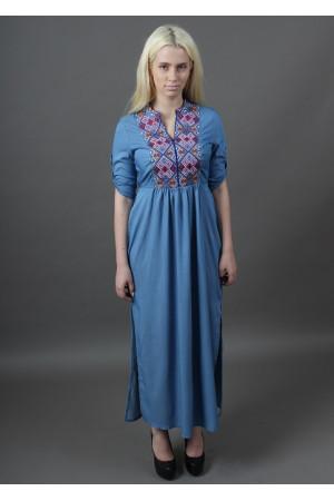 Платье «Монпасье» цвета джинс