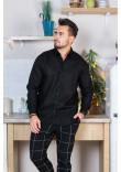 Чоловіча сорочка «Класична» чорного кольору