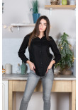 Сорочка «Класична» чорного кольору