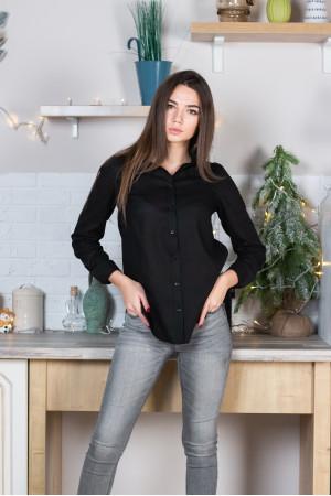 Рубашка «Классическая» черного цвета