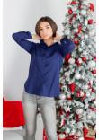 Сорочка «Класична» темно-синього кольору