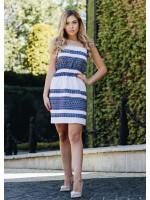 Платье «Росинка» голубого цвета