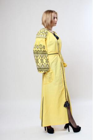 Платье «Злата» желтого цвета
