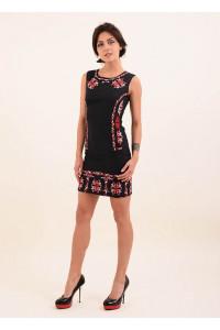 Платье «Эффект» черного цвета