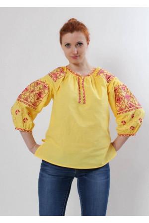 Вишиванка «Полтава» жовта