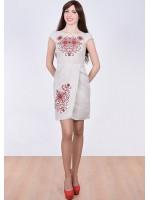 Платье «Роксолана» светло-серого цвета