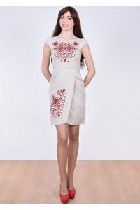 Сукня «Роксолана» світло-сірого кольору