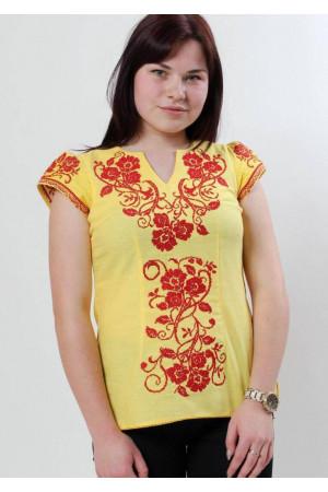 Вишиванка «Вишиваночка» жовта
