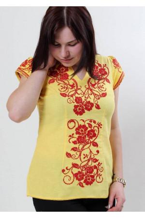 Вышиванка «Вышиваночка» желтая
