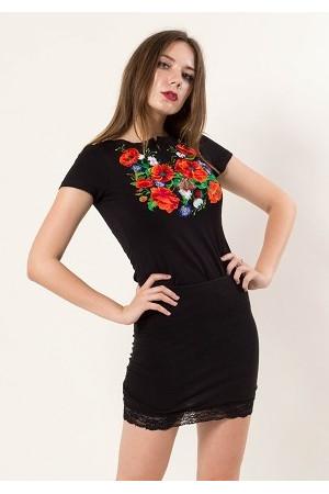 Вишиті жіночі футболки – купити недорого в інтернет-магазині ... 109a9efc33e5d