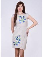 Сукня «Дзвінка» світло-сірого кольору