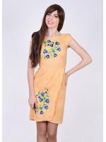 Сукня «Дзвінка» абрикосового кольору