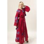 Сукня «Паризька троянда» вишневого кольору