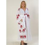 Сукня «Паризька троянда» білого кольору