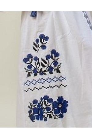 Сукня «Празький букет» білого кольору