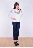 Блуза «Шипшина» білого кольору
