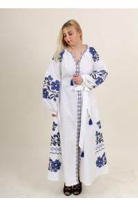 Сукня «Паризький букет» білого кольору