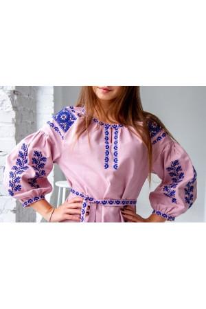 Платье «Азалия» розового цвета