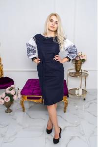 Сукня «Даяна» темно-синього кольору