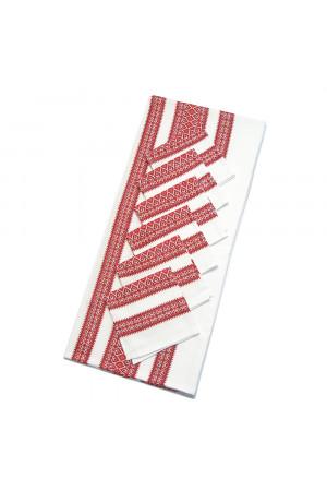 Скатерть с салфетками «Волынский орнамент», размер 1,2х1,4 м