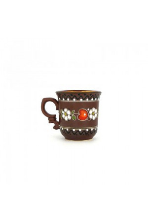 Керамическая чашечка для кофе «Вишенка», 100мл