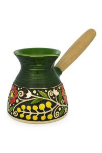 Зеленая турка «Веночек»