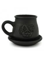 Дымленая чашка «Рябина»