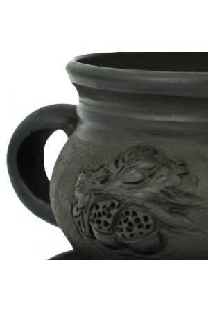 Дымленая чашка «Дуб»