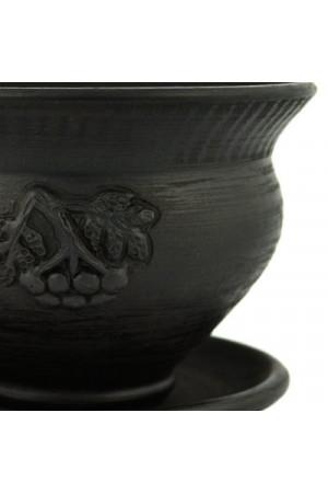 Дымленая чашка «Рябина большая»