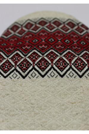 Варежка-прихватка «Красный орнамент»