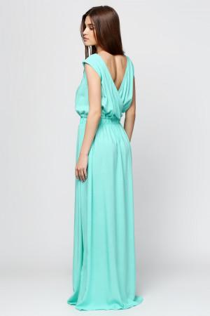 Платье «Бриз» бирюзового цвета