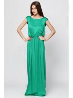 Платье «Бриз» изумрудного цвета