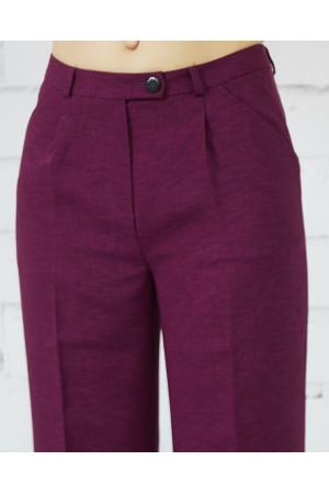 Брюки «Ватсон» фиолетового цвета